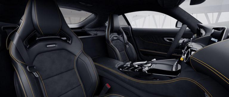 Mercedes AMG GT-R von innen bei mach2cars
