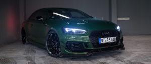 Audi ABT RS5-R von vorne rechts in der Autovermiietung mach2cars in Stuttgart
