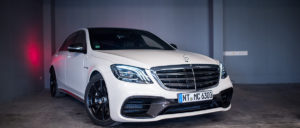 Mercedes S63 in weiß
